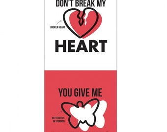 "Heart, butterfly, 18""X44"", 95070108P-01, Hasbro Gaming, Camelot Fabrics"