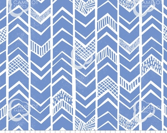 Chevrons, blue, Mod Blocks, 27180110, col 05, Camelot Fabrics, 100% Cotton, quilt cotton