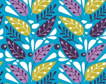 Leaves, 18180104, col 02, Springs Birds, Camelot Fabrics, 100% Cotton