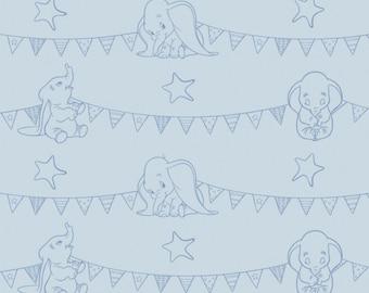 Disney, Dumbo, 85160103, col 3, Camelot Fabrics, , 100% Cotton, quilt cotton