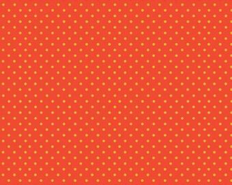 Spot, RED/Yellow, 830, Makower, cotton, cotton quilt, cotton designer