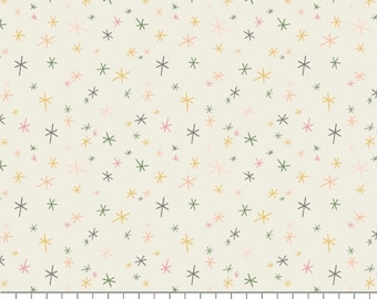 Scattered Stars, Procesco Party, 27200606, col 01, Camelot Fabrics, 100% Cotton, (Reg 3.76-21.91)