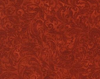 Belle, brick, 7800, Timeless Treasures, cotton, cotton quilt, cotton designer