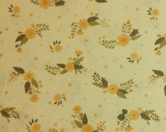 Flourish, 3240205, col 01, Ciana Bodini, Camelot Fabrics, flower, light peach, 100% Cotton, (Reg 2.99-17.99)