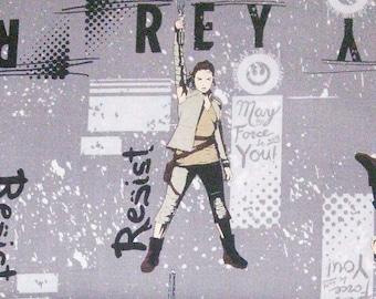 Rey, Star Wars, The force awakens, 7360404, col 02, Camelot Fabrics, cotton, cotton quilt, cotton designer