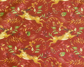 Hare, Fables, Laura Ashley, 71180401, col 01, Camelot Fabrics, cotton, cotton quilt, cotton designer