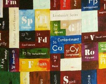 Modern study, par Billie Davids, The Human Element, 1701161, col 01, Camelot Fabrics, 100% Cotton,