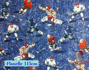 Flannel, Hockey, many yards will be cut as one piece, Flannel 100% high quality cotton