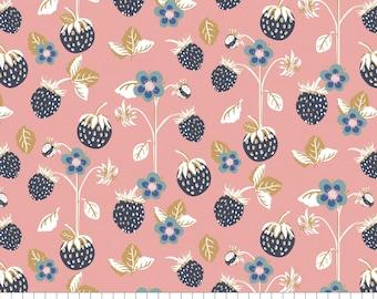 Berry Blossoms, 29170301, col 02, Camelot Fabrics, 100% Cotton