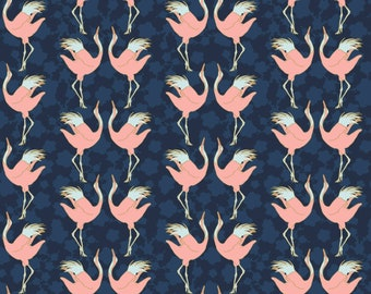Birds, 29180202, col 01, Mistic Cranes, Camelot Fabric, quilt cotton