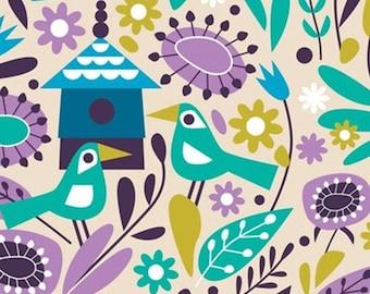 Birds, 18180101, col 01, Springs Birds, Camelot Fabrics, 100% Cotton, (Reg 2.99-17.99)