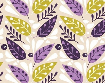 Leaves, 18180104, col 01, Springs Birds, Camelot Fabrics, 100% Cotton, (Reg 2.99-17.99)