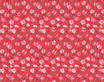 Flower, City Girl, 26180105J, col 02, Camelot Fabrics, 100% Cotton