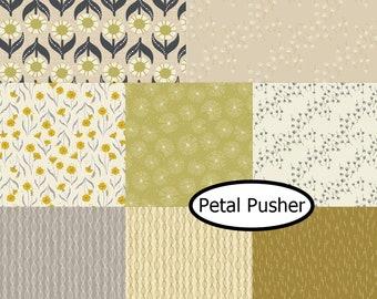 Bundle, 8 motifs, Petal Pusher, Camelot Fabrics,