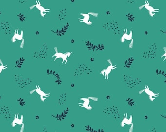 Skogen horse toss, 2117605, col 02, Skogen, Camelot Fabrics, 100% Cotton