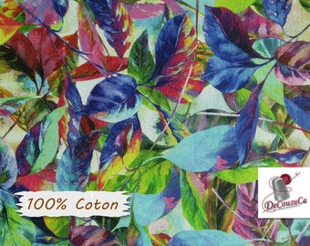 Flowers multi, Lovina Beach Batiks, 1558, 100% Cotton, (Reg 2.99-17.99)