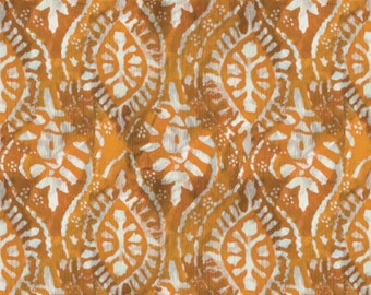 Ogee, orange, Poetic, Designer: Tracy Porter, 36170102J, 01, Camelot Fabrics, cotton, cotton quilt, cotton designer
