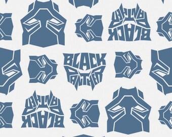 Black Panther, Logo, 13020439, col 03, Camelot Fabrics, cotton, cotton quilt, cotton designer