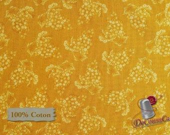 Grapes, Vintage, Mary Beth Baker, Henry Glass & Co, 1134, multiple quantity cut in 1 piece, 100% Cotton, (Reg 2.99-17.99)