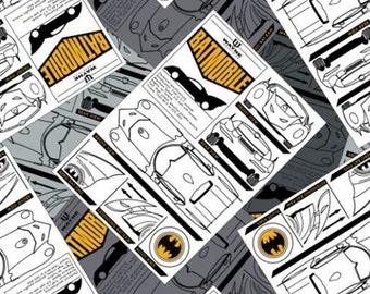 Batman, Batmobile, 23200121, col 01, Camelot Fabrics, cotton, cotton quilt, cotton designer