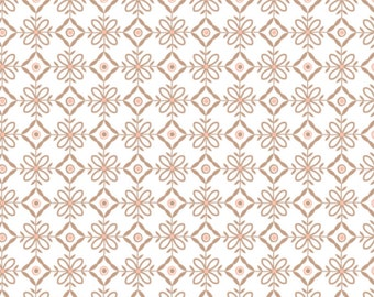 Lattice, Brown sugar, 2144703-01, Camelot Fabrics, multiple quantity cut in one piece, 100% Cotton