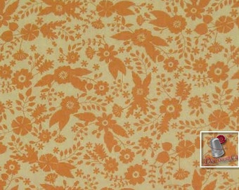 Flourish, 3240204, col 01, Ciana Bodini, Camelot Fabrics, flower, light peach, multiple quantity cut in one piece, 100% Cotton