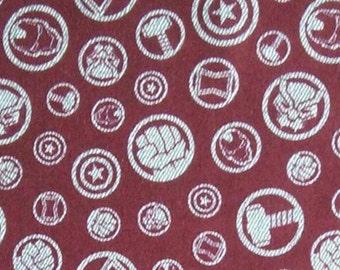 Hero Symbols, Avengers, 13050102, col 01, Camelot Fabrics, cotton, cotton quilt, cotton designer