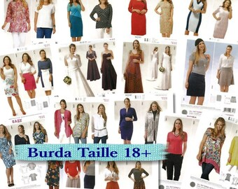 Burda, Women, 16-34, new, uncut.