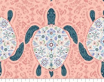 Turtle Cove, 21190601, col 01, Camelot Fabrics, 100% Cotton