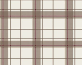 Highland check, portobello, Laura Ashley, The Hunterhill, 71180104, Camelot Fabrics, 100% Cotton, (Reg 2.99-17.99)