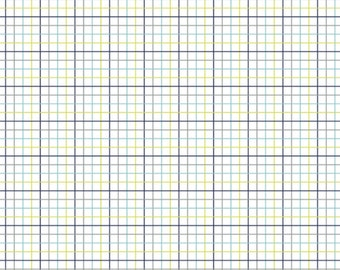 Grid, white, 4142305, col 01, Dog gone it, Camelot Fabrics, multiple quantity cut in one piece, 100% Cotton, (Reg 2.99-17.99)