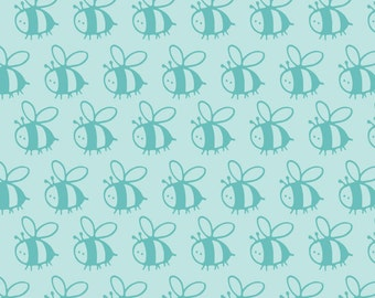END OF BOLT, Bumble Bee, Flutter & Buzz, 6141804-03, Camelot Fabrics, multiple quantity cut in one piece, 100% Cotton