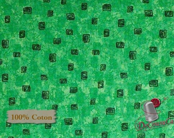 Studio 8, Green, Quilting Treasures, multiple quantity cut in one piece, 100% Cotton