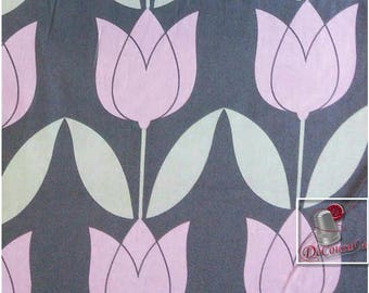 Tulip, mauve, Michael Millers Fabrics, Michael Millers Fabrics, 6842, multiple quantity cut in one piece, 100% Cotton, (Reg 2.99 - 12.99)