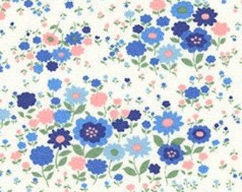Flowers, Sevenberry, 6112, Sevenberry, cotton, cotton quilt, cotton designer