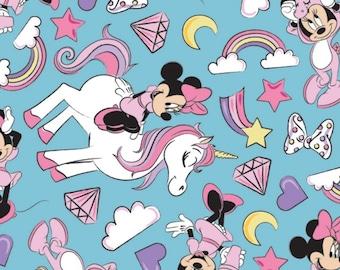 Minnie Mouse, Licorne, 85270801, col 04, Camelot Fabrics, 100% Cotton