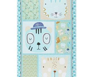 """Panel, Little Friends, 24"""" X 44"""", (60cm x 115cm), Bernartex , 05081, col 01, Multiple quantity cut 1 piece, 100% Cotton, (Reg 13.15)"""