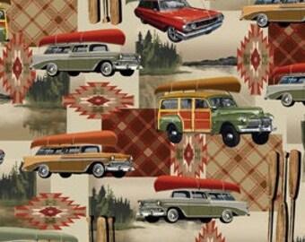 Gone Camping Natural, #08975, 07, Benartex, cotton, cotton quilt, cotton designer