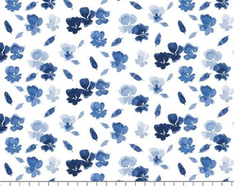Classic Blue, Express Yourself, 55200104, Camelot Fabrics, 100% Cotton