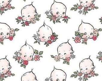 Sew Kewpie of Riley Blake Designs, CLOUD, #10542, fabric, cotton, quilt cotton