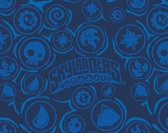 Skylanders, Outlines, 7510106, col 01, Camelot Fabrics, cotton, cotton quilt, cotton designer