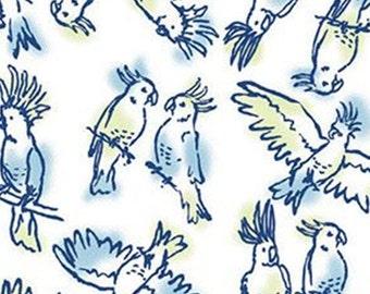 Brisk Birds, 71180304, col 01, By The Sea, Laura Ashley, Camelot Fabrics, 100% Cotton