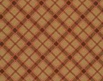 Rustic Plaid Pecan, #08971, 72, Benartex, cotton, cotton quilt, cotton designer