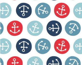 Tiny, Anchors, Toss, Nautical, Camelot Fabrics, 89190612, col 01, cotton, cotton quilt, cotton designer