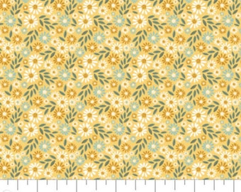 Flower, Wish for Rain, 89191003, col 02, Camelot Fabrics, 100% Cotton