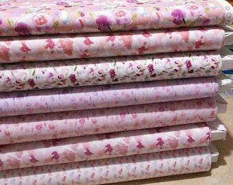 Bundle, 7 motifs, Heartwork, Camelot Fabrics, quilt cotton, designer cotton