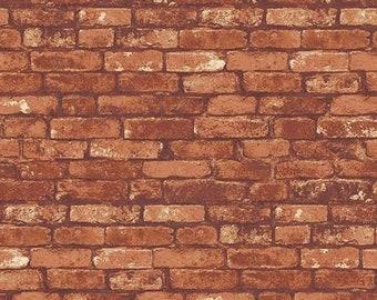 Brick, Andover, 9154, Rough Hewn, Camelot Fabrics, cotton, cotton quilt, cotton designer
