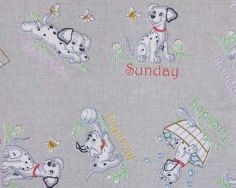 Dalmatien, dog, 160140, Monandfabric, cotton, cotton quilt, cotton designer