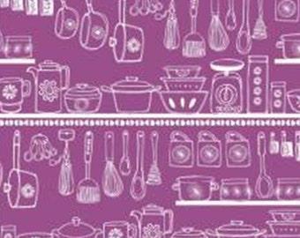 SALE, Pantry, purple, 30180402, col 02, Camelot Fabrics, cotton, cotton quilt, cotton designer, (Reg 3.76-21.91)