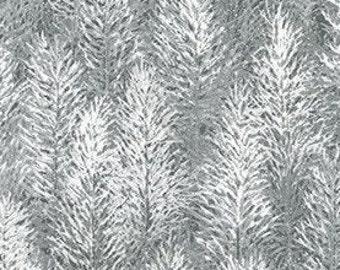 Sapin, metallic silver, 19268, col 88, Robert Kaufman, 100% Cotton